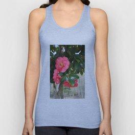 camellia flower Unisex Tank Top