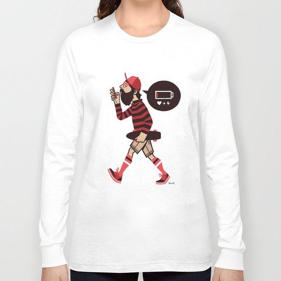 LOW BATTERY Long Sleeve T-shirt