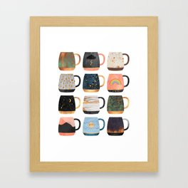 Coffee Cup Collection 2 Framed Art Print