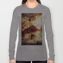 And Now... Kiss The Burning Darkness Long Sleeve T-shirt