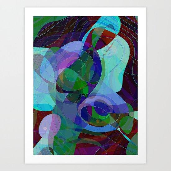 In Memoriam Mather Teresa Art Print