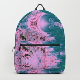 Japanese Water Gardens Fractal Abstract Backpack