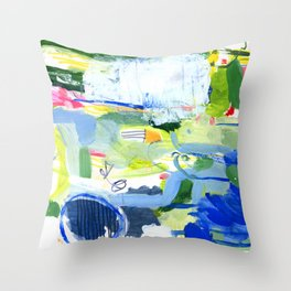 MUSICAL CONFUSION #2 Throw Pillow