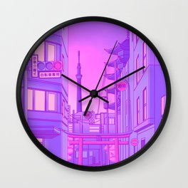 Asakusa Lights Wall Clock