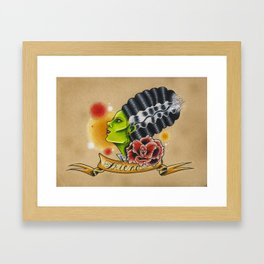Friend Framed Art Print