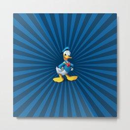 Donald - The Duck Metal Print