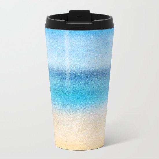 Tropical Sea #4 Metal Travel Mug