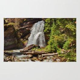 Serene Waterfall Rug
