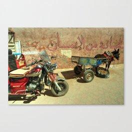 Donkey Trike Canvas Print
