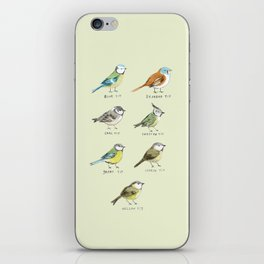 The Tit Family iPhone Skin