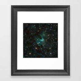 Cave Nebula Framed Art Print