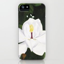 Magnolia I iPhone Case