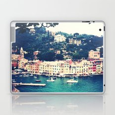 A vintage day in Portofino Laptop & iPad Skin