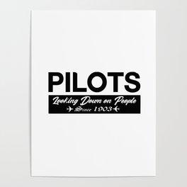 Funny Pilot Poster