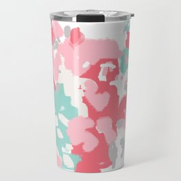 Arabella - abstract painting hipster home decor trendy color palette art gifts Travel Mug