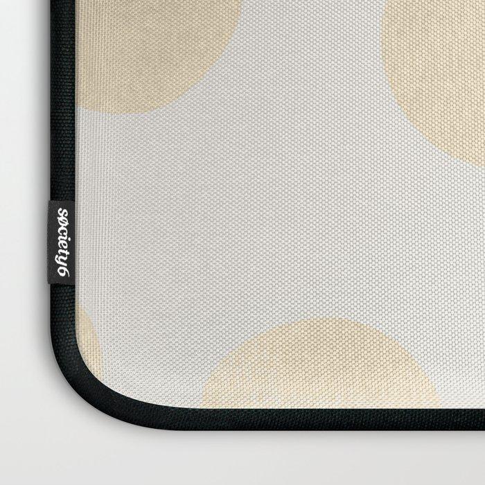 Gold Polka Dots Laptop Sleeve
