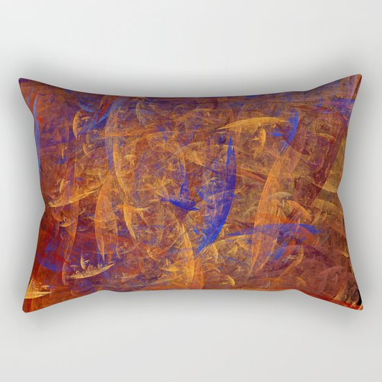creative day Rectangular Pillow