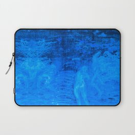 In liquid Indigo Laptop Sleeve