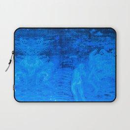 In liquid Indigo Laptop Sleeve