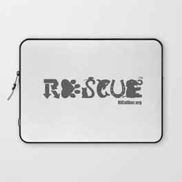 Rescue Gray Laptop Sleeve