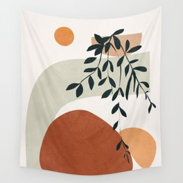 Soft Shapes I Wall Tapestry