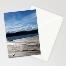 Lake Side View From a Dock Stationery Cards