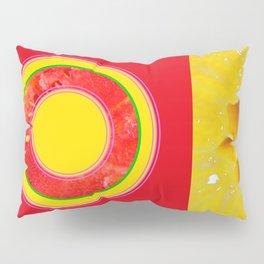 Watermelon-Lemon - Strange Fruits - Living Hell Pillow Sham