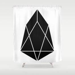 EOS Logo Shower Curtain