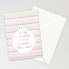 Adopt a Unicorn Stationery Cards