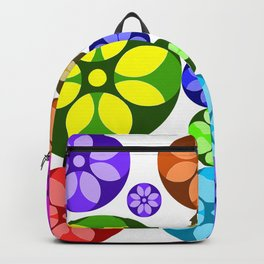Colorful petals Backpack