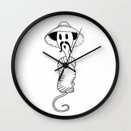 South of the Boarder Sperm Wall Clock