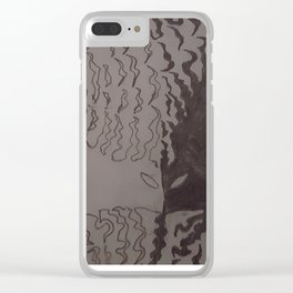 Sentient Flame Clear iPhone Case