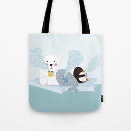 polar coffe Tote Bag