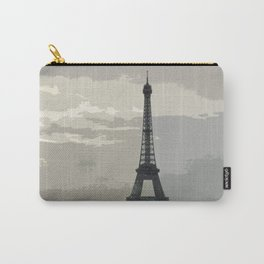 Eiffel Tower in Fog Carry-All Pouch