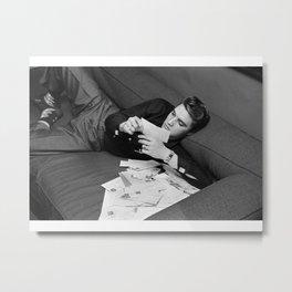 Elvis Presley Photographic Print Poster art Metal Print