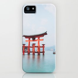 Floating Shrine of Miyajima, Japan iPhone Case