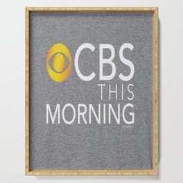 CBS This Morning 2020 Serving Tray
