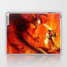 Samurai Jack VS Aku Laptop & iPad Skin