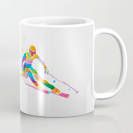 Ski geometric Coffee Mug