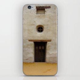 Capistrano Mission Doorway iPhone Skin