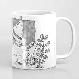 Witch gardening Coffee Mug
