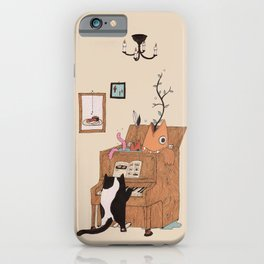 the Pianist iPhone Case