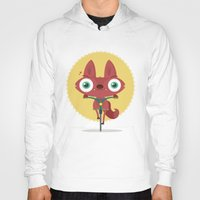 bicycle Hoodies featuring Bicycle by Maria Jose Da Luz