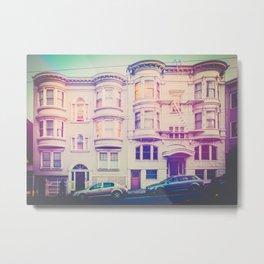 San Francisco Glow Metal Print