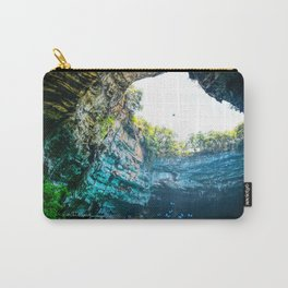 Sea Cave in Greece Carry-All Pouch
