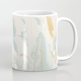 Marble - Cream & Blue Coffee Mug