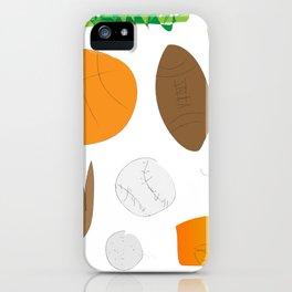 Sports Nut (Jaidyn) iPhone Case