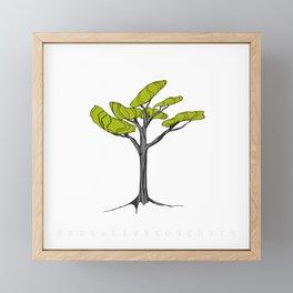 Happy Bonsai Framed Mini Art Print