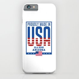 Gila Bend Arizona iPhone Case