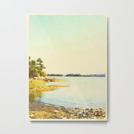Wolfe's Neck State Park, Maine Metal Print